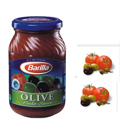 Sốt  Barilla Olive - lọ 400gr