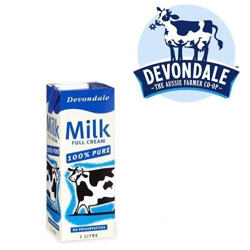 Sữa tươi Devondale nguyên kem 1L - Còn Hàng