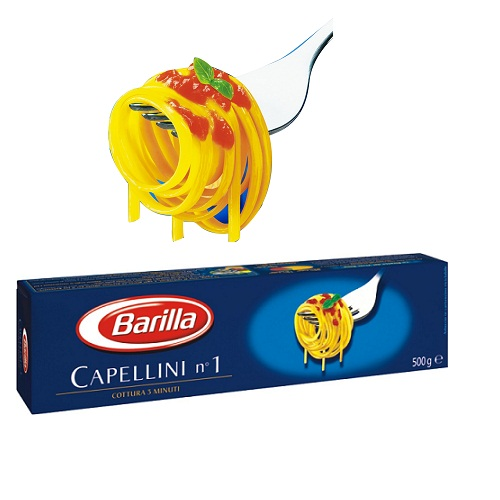 Mỳ Capellini sợi nhỏ số 1 - hộp 500gr