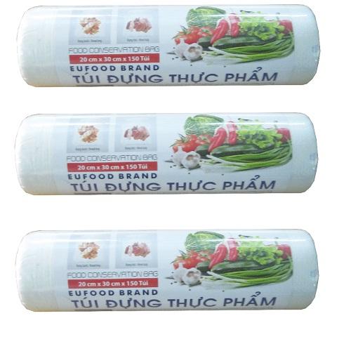 Túi Việt Nam đựng thực phẩm 20 x 30cm*150 Cái/Cuộn