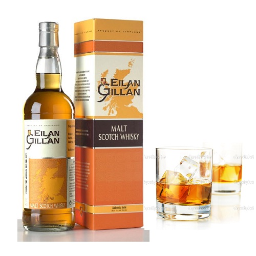 Rượu mạnh Whisky Eilan Geilan Single Malt 70cl