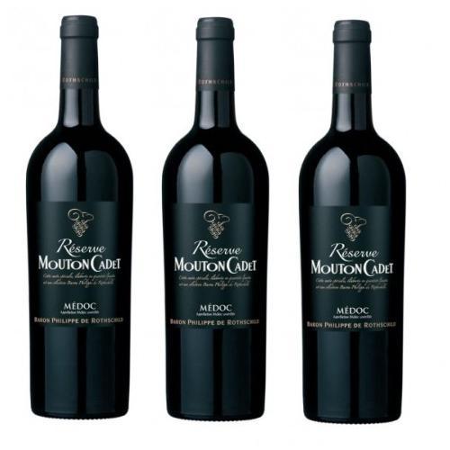 Rượu vang đỏ Mouton Cadet Reserve Medoc 75cl