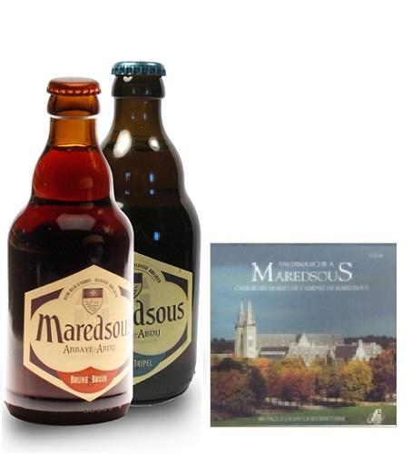 Bia Maredsous nâu 8%-33cl