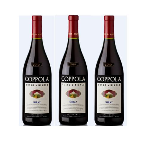 Rượu vang đỏ Coppola Presents Rosso Shiraz 75cl