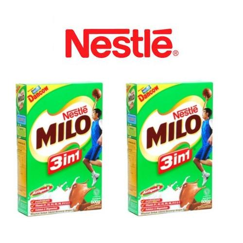 Sữa Milo 3 in 1 - hộp giấy 600g