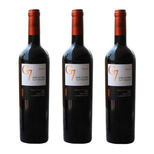 Vang Chile G7 Cabenet đỏ 750ml