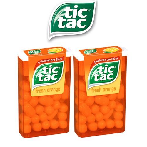 Kẹo Tic Tac Cam 16gr