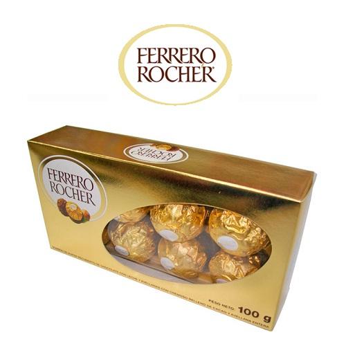 Socola Ferrero Rocher hộp giấy 8 viên