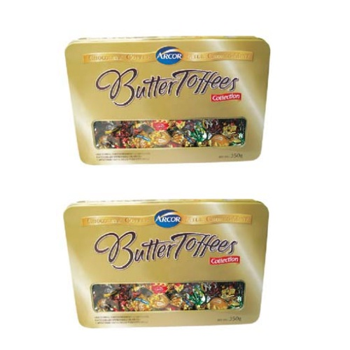 Kẹo hiệu Arcor Butter Toffees 350gr