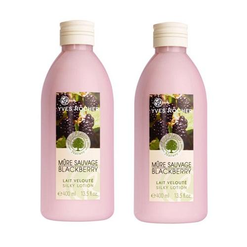 Sữa dưỡng thể hương mâm xôi đen Yves Rocher 400ml