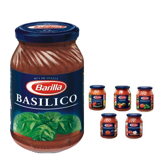 Sốt Barilla húng quế Basilico - lọ 400gr