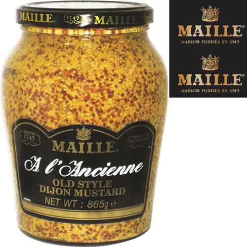 Mù tạt Old style Maille 865gr