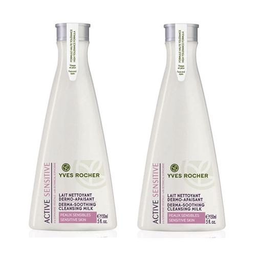 Sữa rửa mặt cho da nhạy cảm Active Sensitive hiệu Yves Rocher