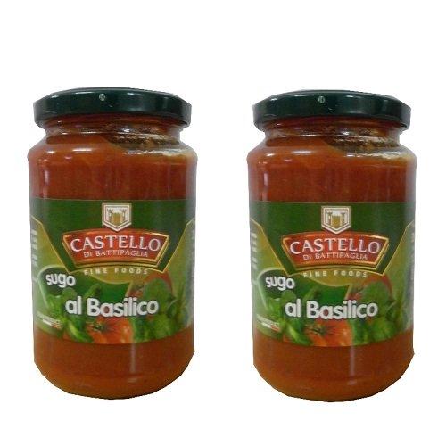 Sốt mỳ Castello Spaghetti Basil 350gr