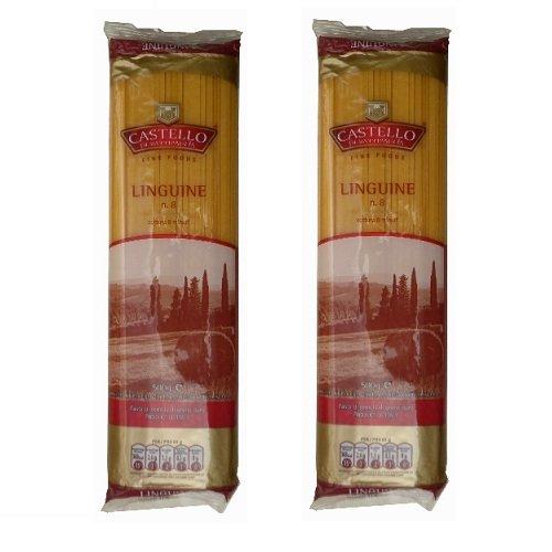 Mỳ dẹt Ý LINGUINE hiệu Castello số 8 (500gr)