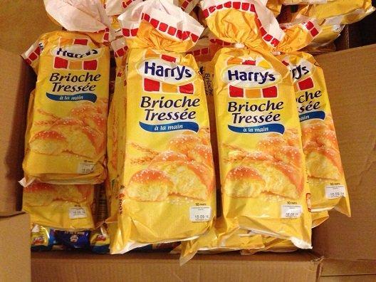 Bánh mì hoa cúc Harrys Brioche Pháp - Loại 1