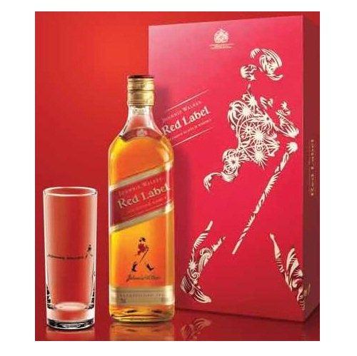 Rượu Johnnie Walker đỏ 75cl – hộp quà