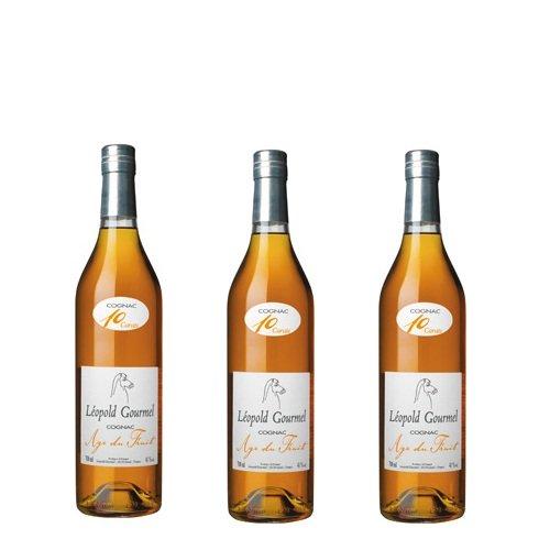 Rượu Leopold Gourmel Cognac Carafe Age du Fruit 41% 75cl
