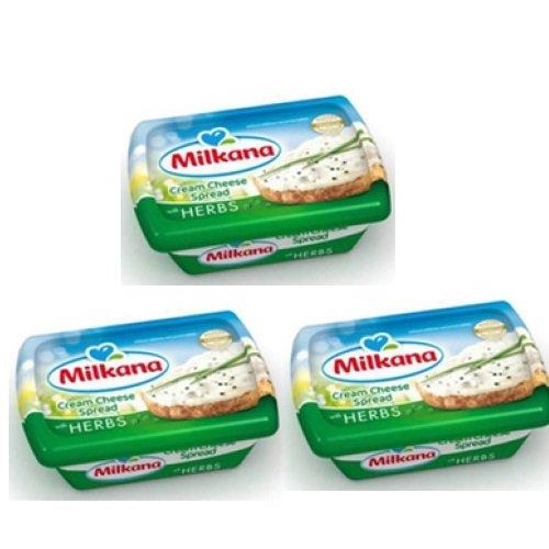 Phô mai Milkana kem phết bạc hà 180g