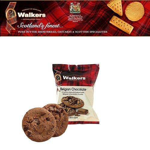 Bánh quy Walkers phủ hạt sô cô la 25gr