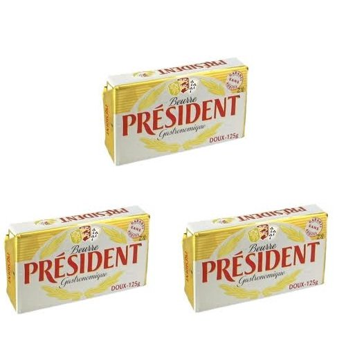 Bơ lạt President 125gr