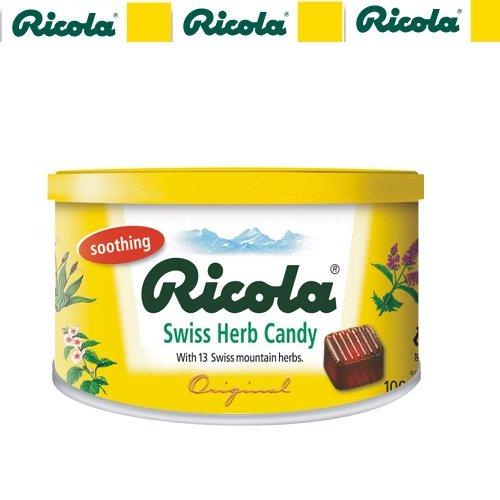 Kẹo thảo mộc Ricola hương tự nhiên 100gr