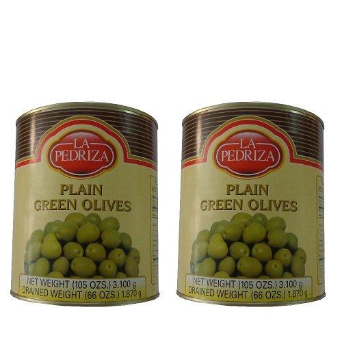 Quả oliu xanh nguyên trái hiệu La Pedriza 3kg
