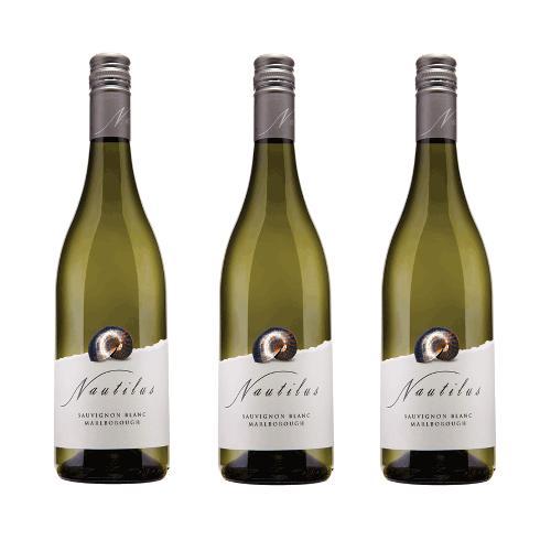 Rượu vang trắng Nautilus Sauvignon Blanc 75cl