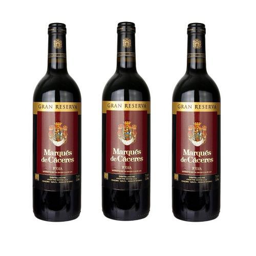 Rượu vang đỏ Marques de Caceres Gran Reserva 2001 75cl