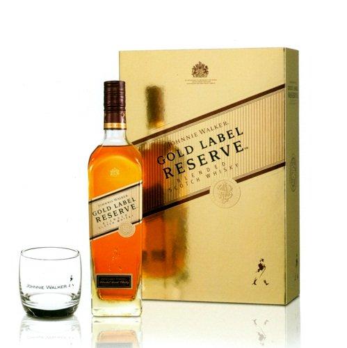 Rượu Johnnie vàng 75cl – hộp quà