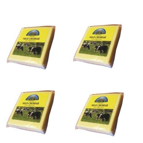 Phô mai Cheddar trắng khối 200g hiệu Grove Dairy