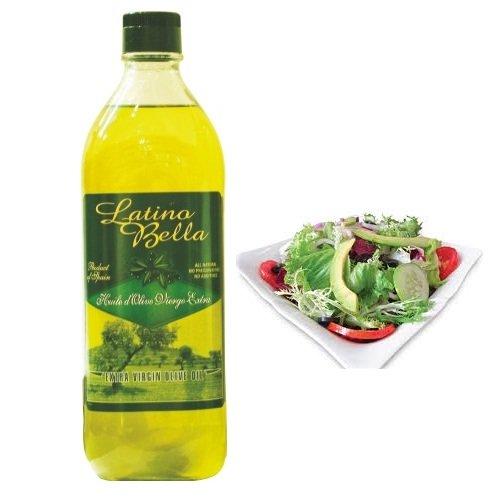 Dầu olive Latino Bella nguyên chất 1L
