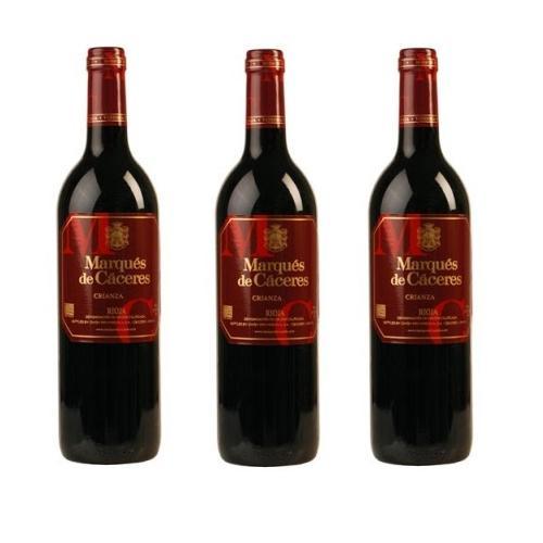Rượu vang đỏ Marques de Caceres Crianza 75cl