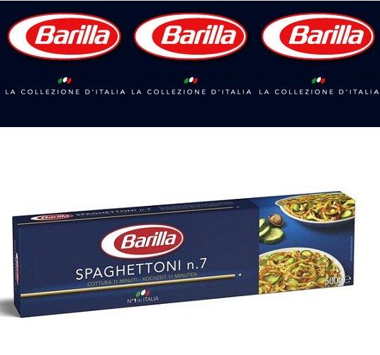 Mỳ Ý Barilla - Spaghettoni mỳ sợi số 7 Hộp 500gr