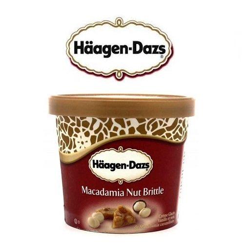 Kem Haagen-Dazs Vị Macadamia - Hộp 473ml