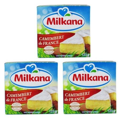 Phô mai camembert hiệu Milkana 125gr