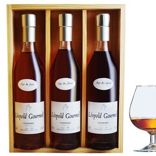 Rượu mạnh L. Gourmel Promenade en cognac 20cl x3