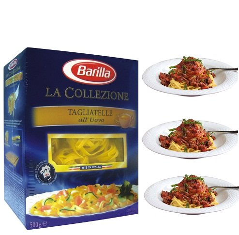 Mỳ Ý Barilla - Tagliatelle mì dẹp nhỏ số 129 Hộp 500gr