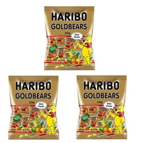 Kẹo dẻo Haribo Goldbears 250g