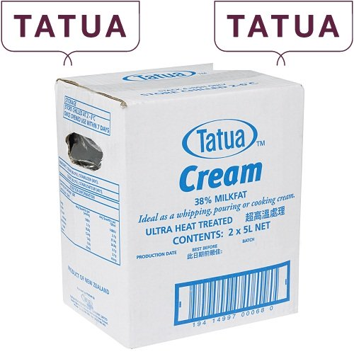 Kem sữa Tatua 5L