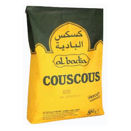 Couscous hạt lớn Alpina Savoie MOYEN AL BADIA 5kg