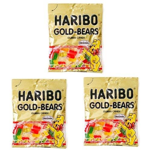 Kẹo dẻo Haribo Goldbears 100g