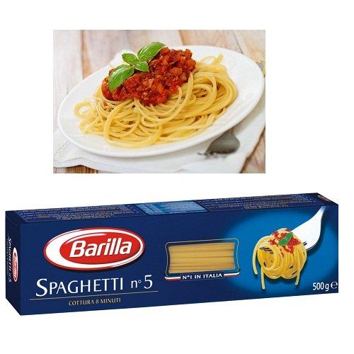 Mỳ Barilla Spaghetti sợi vừa số 5 Hộp 500gr
