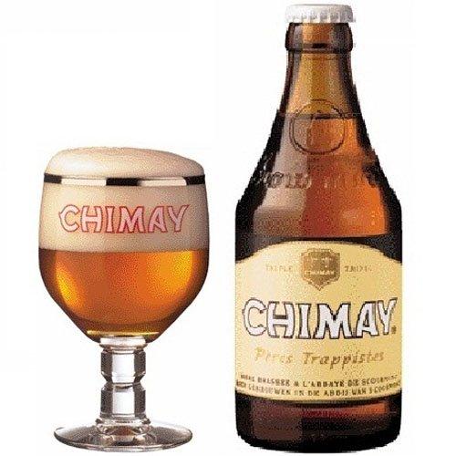 Bia Chimay trắng 8%-33cl