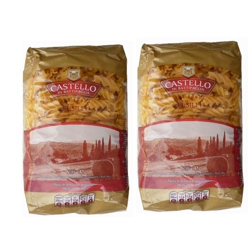 Mỳ xoắn Ý FUSILLI số 48 Castello 500gr