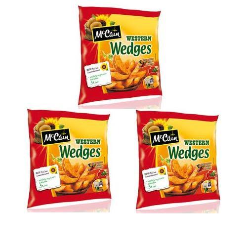 Khoai tây bổ cau Western Wedges 750g