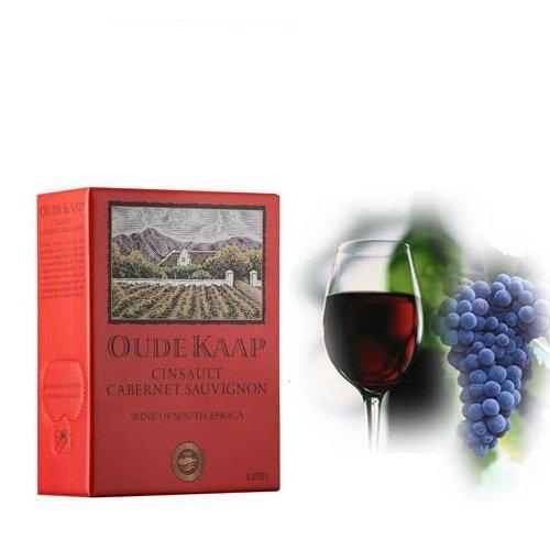 Rượu vang bịch đỏ BIB Cinsault Ruby Cabernet 3 Lít